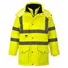300D vízálló - lélegző jól láthatósági kabátok