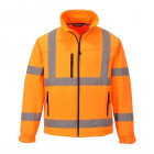 Hi-Vis softshell jól láthatósági kabátok
