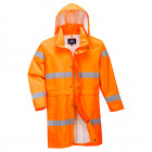 190T jól láthatósági eső elleni kabátok