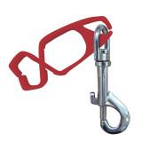 Portwest A001 - Kesztyű rögzítő, piros, 40db/csomag