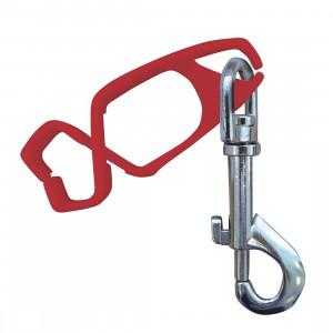 Portwest A001 - Kesztyű rögzítő, piros, 40db/csomag termék fő termékképe