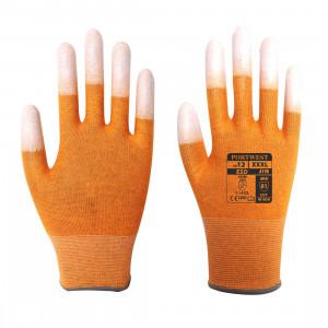 Portwest A198 - ESD ujjvég bevont védőkesztyű, narancs termék fő termékképe