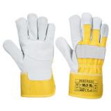 Portwest A220 - Prémium bőrkesztyű, sárga
