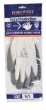 Portwest A319 - Flexo Grip nitril kesztyű, szürke/fehér (kisker kiszerelés)