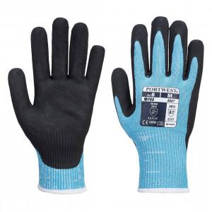 Portwest A667 - Claymore AHR Cut vágásbiztos kesztyű Cut - / F, kék termék fő termékképe