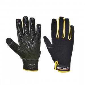 Portwest A730 - Super Grip nagy teljesítményű kesztyű, fekete/sárga termék fő termékképe