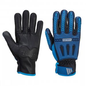 Portwest A761 - Impact VHR Cut kesztyű Cut - / F, kék/fekete termék fő termékképe