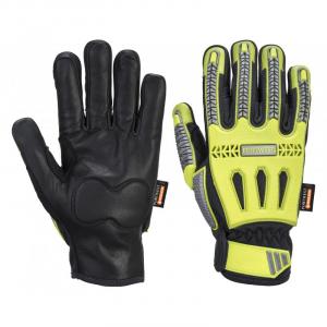 Portwest A762 - R3 Impact Winter kesztyű, sárga/fekete termék fő termékképe