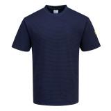 Portwest AS20 - Antisztatikus, ESD póló, tengerészkék