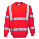 Portwest B303 - Jól láthatósági pulóver, piros