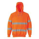 Portwest B304 - Jól láthatósági kapucnis pulóver, narancs