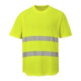 Portwest C394 - Hálós póló, sárga