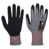 Portwest CT65 - PRX Cut VHR vágásbiztos nitril hab kesztyű Cut - / E, szürke/fekete