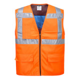 Portwest CV02 - Jól láthatósági hűtő mellény, narancs