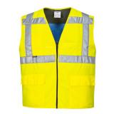 Portwest CV02 - Jól láthatósági hűtő mellény, sárga