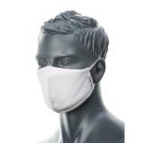 Portwest CV22 - 2 rétegű anti-mikrobiális arcmaszk, fehér, 25db/csomag