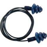 Portwest EP07 - Detektálható TPR zsinóros füldugó, kék, 50pár/csomag