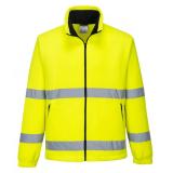 Portwest F250 - Hi-Vis Essential polár pulóver, sárga