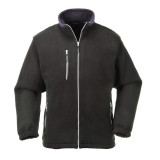 Portwest F401 - City polár pulóver, fekete
