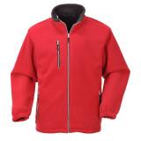 Portwest F401 - City polár pulóver, piros