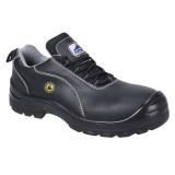 Portwest FC02 - Compositelite ESD félcipő, bőr felsőrésszel S1, fekete