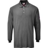 Portwest FR10 - Antisztatikus, lángálló hosszúujjú pólóing, szürke