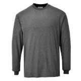 Portwest FR11 - Antisztatikus, lángálló hosszúujjú póló, szürke