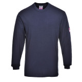 Portwest FR11 - Antisztatikus, lángálló hosszúujjú póló, tengerészkék