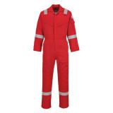 Portwest FR21 - Szuper könnyített lángálló overál, piros
