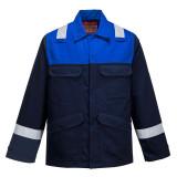 Portwest FR55 - Antisztatikus kéttónusú kabát, tengerészkék/királykék