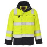 Portwest FR61 - Hi-Vis Multi-Norm kabát, sárga/tengerészkék