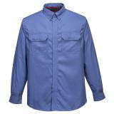 Portwest FR69 - Bizflame Plus lángálló ing, kék