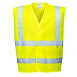 Portwest FR71 - Jól láthatósági antisztatikus és lángálló mellény, sárga