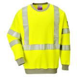 Portwest FR72 - Lángálló, antisztatikus Hi-Vis pulóver, sárga