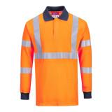 Portwest FR76 - Lángálló RIS pólóing, narancs