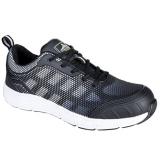 Portwest FT15 - Steelite Tove Trainer védőcipő S1P, fekete/fehér