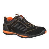 Portwest FW34 - Steelite Lusum védőcipő S1P, fekete/narancs