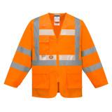 Portwest G475 - Glowtex vezetői kabát, narancs