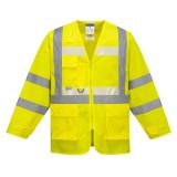 Portwest G475 - Glowtex vezetői kabát, sárga