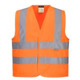 Portwest JN14 - Junior jól láthatósági mellény, narancs