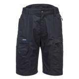 Portwest KX340 - KX3 Ripstop rövidnadrág, fekete
