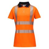 Portwest LW72 - Női Pro jól láthatósági pólóing, narancs/fekete
