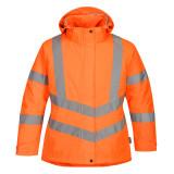 Portwest LW74 - Női jól láthatósági téli kabát, narancs