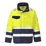 Portwest MV25 - Hi-Vis Modaflame munkakabát, sárga