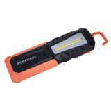 Portwest PA78 - USB újratölthető ellenőrző zseblámpa, fekete