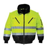 Portwest PJ50 - Hi-Vis 3 az 1-ben pilótadzseki, sárga/fekete