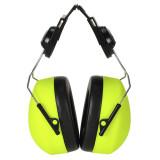 Portwest PS42 - Sisakra szerelhető HV hallásvédő, sárga