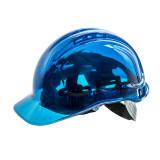 Portwest PV50 - Peak View átlátszó védősisak, kék