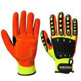 Portwest A721 - Anti Impact védőkesztyű, sárga/narancs