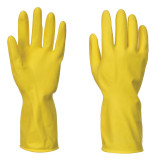 Portwest A800 - Háztartási latex kesztyű, sárga